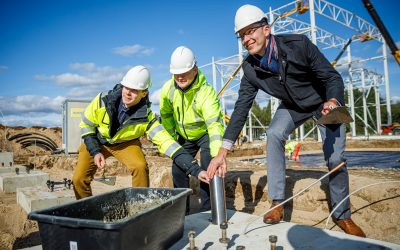 Sweetwoods Project Cornerstone Laid